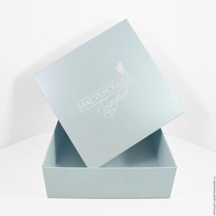 """Купить Коробки с тиснением для """"Мастерской Эльфов"""" - коробочки, шмуки, упаковка, коробка с логотипом, коробки на заказ"""