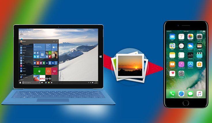 How To Transfer Photos From Iphone And Ipad To Windows 10 Pc Indabaa Ipad Photo Apps Ipad Photo Photo Apps