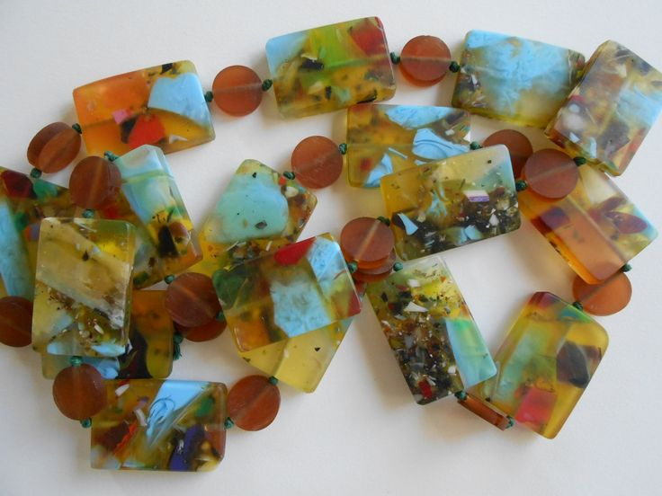 amazing colours in these beads from homework homewares