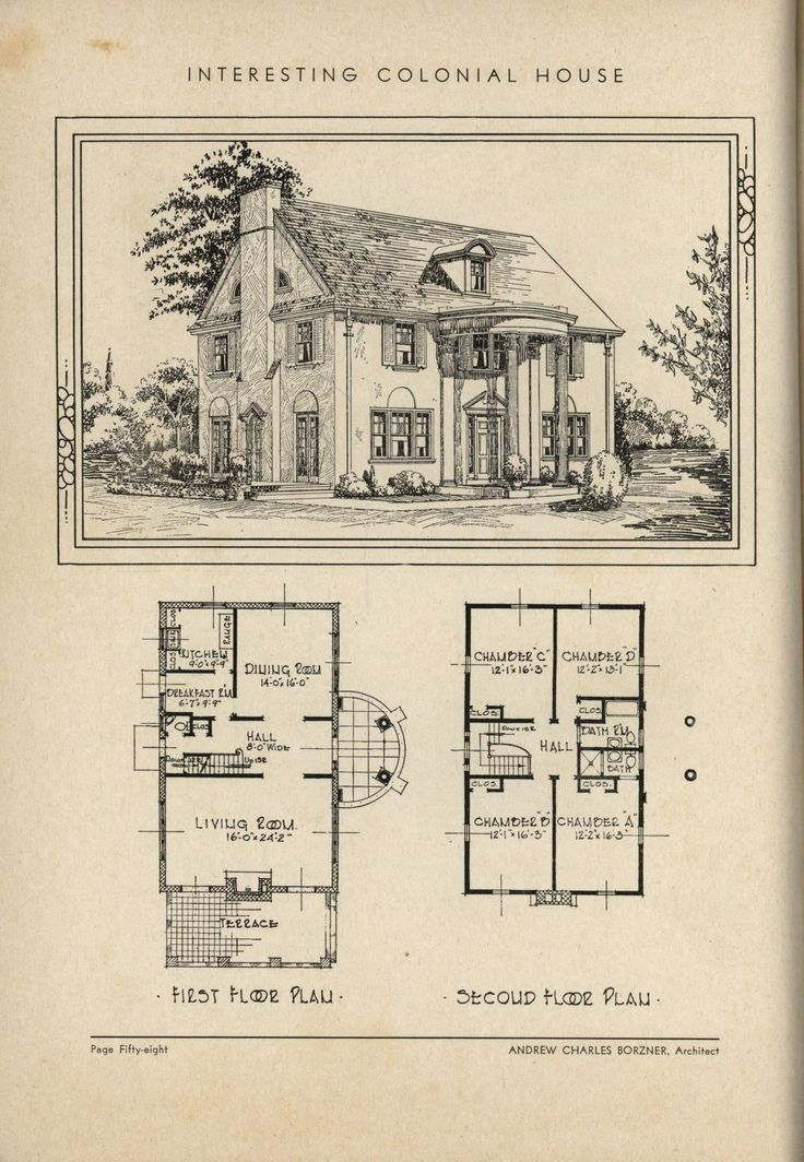 505 best vintage house plans 1930s images on pinterest for 1930s house plans