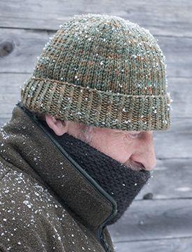 Eränkävijän pipo | A manly beanie for him | Koukuttamo Auvo worsted