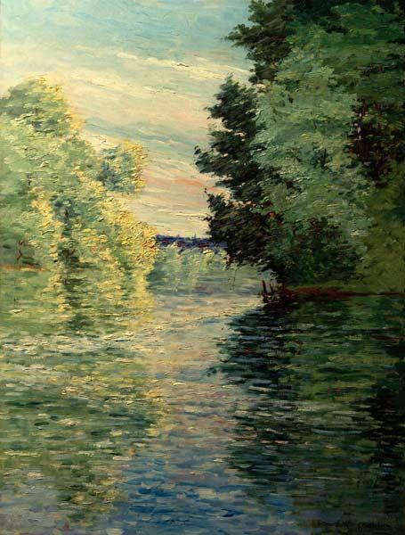 Gustave Caillebotte-Nebenarm der Seine