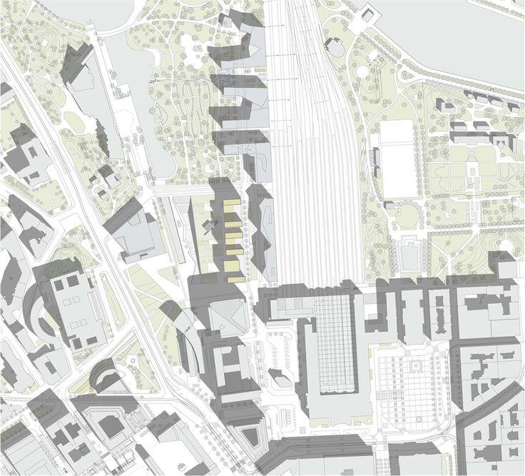 OPERASTUDIO - Competition - Helsinki public library - #Masterplan #Finland