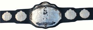 Fantasy Football Championship Belt Trophy Prize (Black/Silver) #fantasyfootball #winning #champion