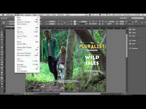 great series of tutorials. >> How to make a brochure with InDesign | Adobe InDesign CC tutorials