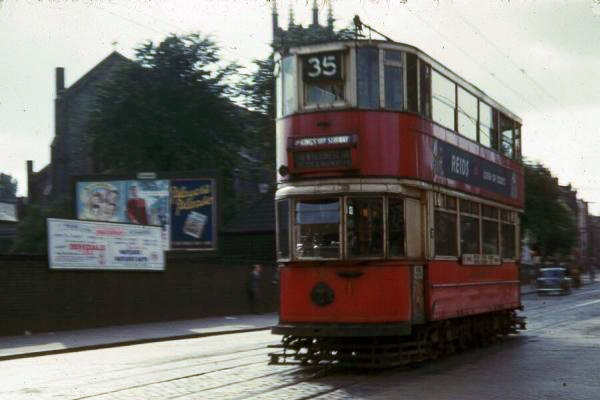London Trams, 1950s - Highgate