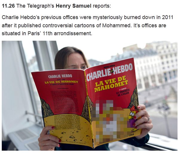 Some Outlets Are Censoring Charlie Hebdo's Satirical Cartoons After Attack - BuzzFeed News