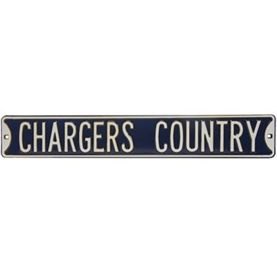 San Diego Chargers Country Sign