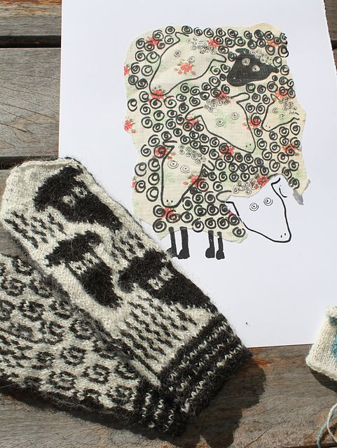 Ravelry: Sheep on Baldersnäs pattern by Lena Bergsman