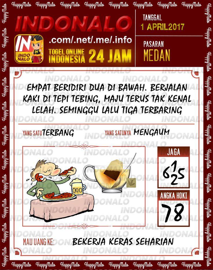 Angka JP 4D Togel Wap Online Indonalo Medan 1 April 2017