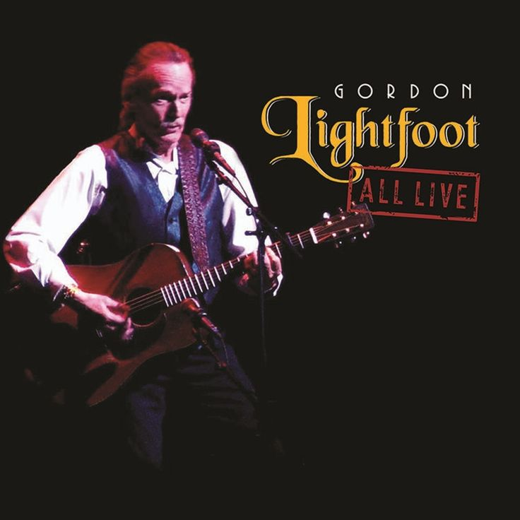 Gordon Lightfoot - All Live on Limited Edition 180g 2LP