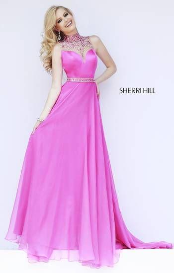 Sherri Hill 32144-Pretty in pink, thinking prom???