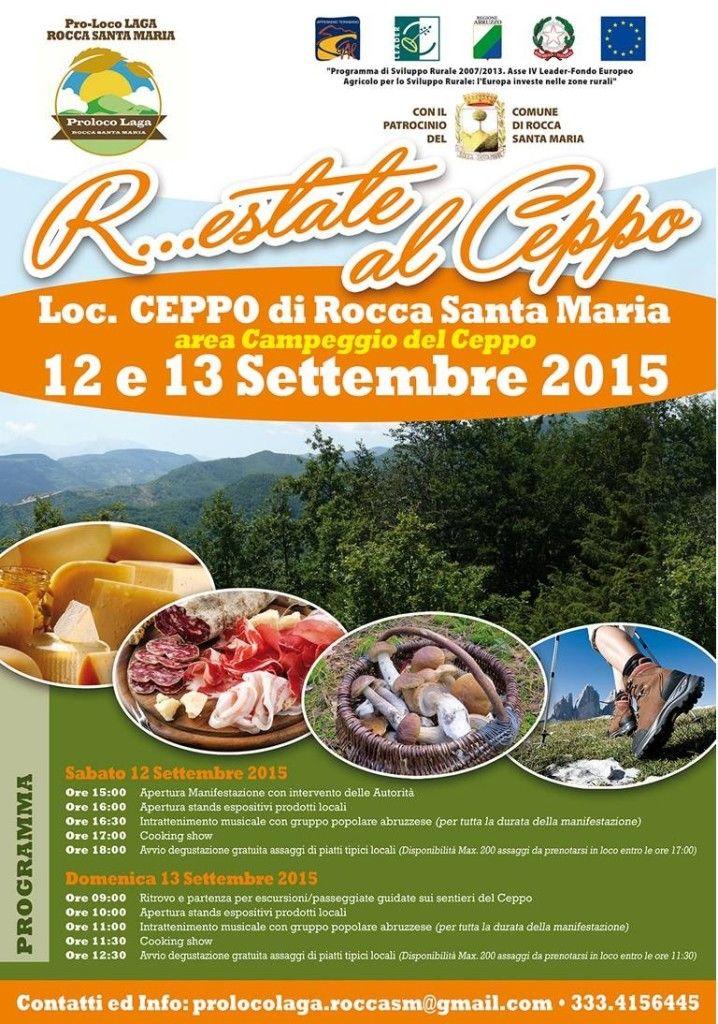 R...estate al Ceppo, weekend a caccia di funghi a Rocca Santa Maria - L'Abruzzo è servito   Quotidiano di ricette e notizie d'AbruzzoL'Abruzzo è servito   Quotidiano di ricette e notizie d'Abruzzo