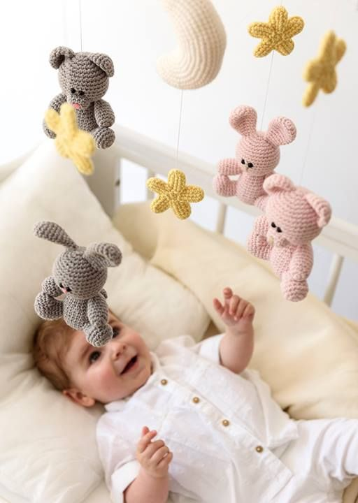 This sweet baby mobile is one of the patterns in our new book in cooperation with One and Two Company! It will surely bring sweet dreams! Check out all the amazing designs in this book on http://ift.tt/2bMTPg5