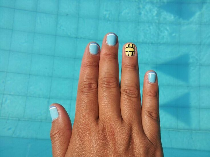 Water polo nails