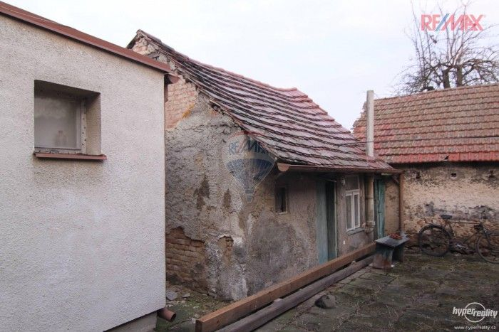 outbuilding near the house
