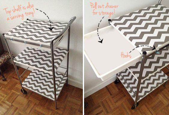 Ikea hack - bar cart