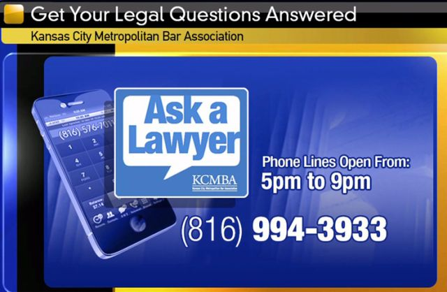 Working for You during Law Week: Ask a Lawyer – your legal questions #ask #questions http://questions.remmont.com/working-for-you-during-law-week-ask-a-lawyer-your-legal-questions-ask-questions/  #ask a lawyer a question for free # Working for You during Law Week: Ask a Lawyer your legal questions Working for You during Law Week: Ask a Lawyer your legal questions KANSAS CITY, Mo. Attorneys will be available to take your calls free of charge this week as part of the partnership between FOX...