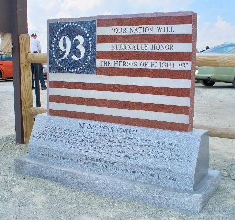Flight 93 National Memorial, Shanksville, PA. (is RIGHT on the way to the Crayola Factory in Easton, PA)