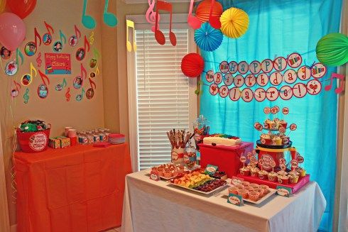music party decoration ideas