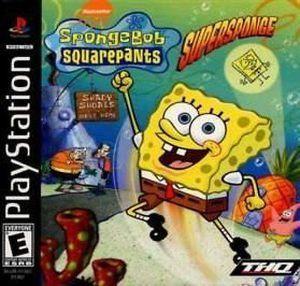 SpongeBob SquarePants Super Sponge - PS1 Game