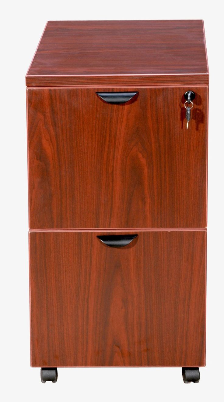 Boss Office Products N149-C Boss Mobile Pedestal, File/File Cherry 16*22*29.5H