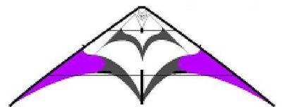 Kites 2569: Silver Fox 2.3 --Standard--Purple-- Stunt Kite--By Flying Wings -> BUY IT NOW ONLY: $145.95 on eBay!