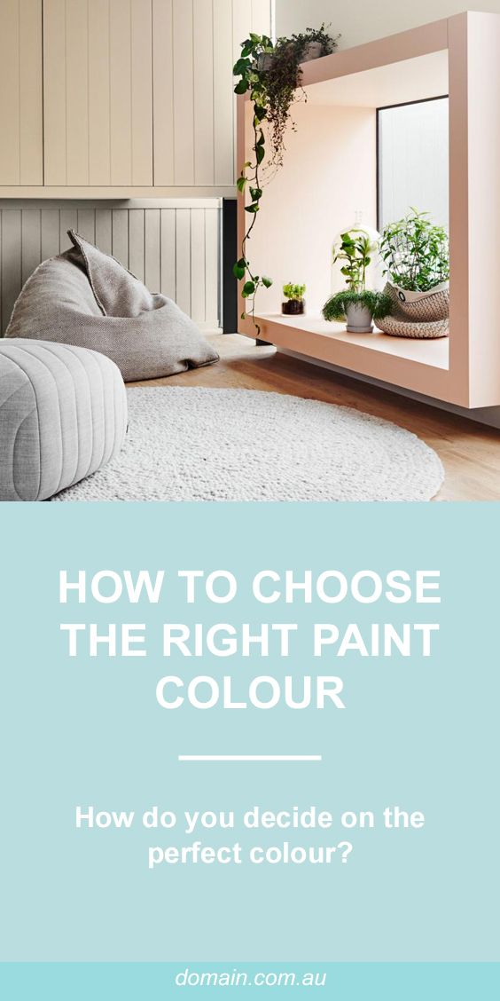 How to choose the right paint colour for any room