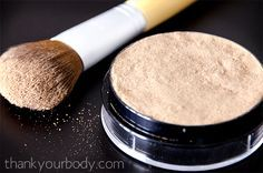 All natural bronzer! Totally making a batch for summer :)