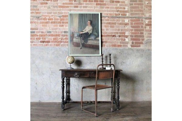Antique Occasional Desk Table   Vinterior