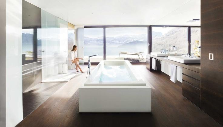 Relaxare, calm, liniste... Intr-o astfel de baie  imi doresc sa incep fiecare zi!