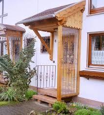 Image result for haustür überdachung holz und glas