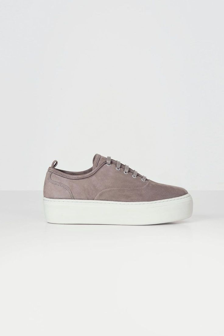 BAE Taupe via Jennie-Ellen. Click on the image to see more! Suede SneakersEdgy  ...