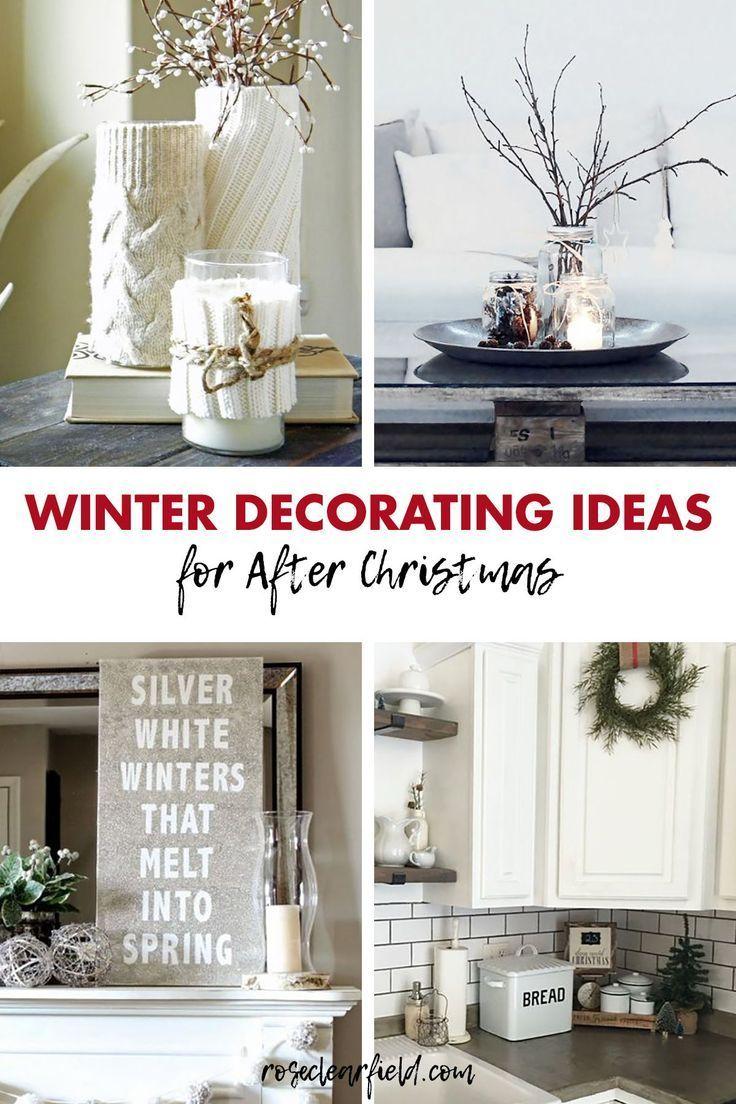 White House Christmas Decorations 2020 Scream Winter Decorating Ideas for After Christmas in 2020 | Winter home
