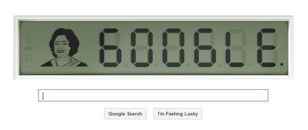 Google Doodle Commemorates Math Prodigy Shakuntala Devi