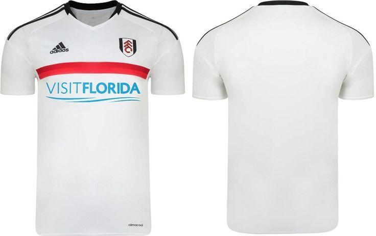 Camisas do Fulham FC 2016-2017 Adidas