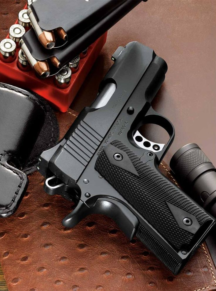 Kimber Ultra Carry II .45ACP Pistol w/ Night Sights Law Enforcement Today www.lawenforcementtoday.com