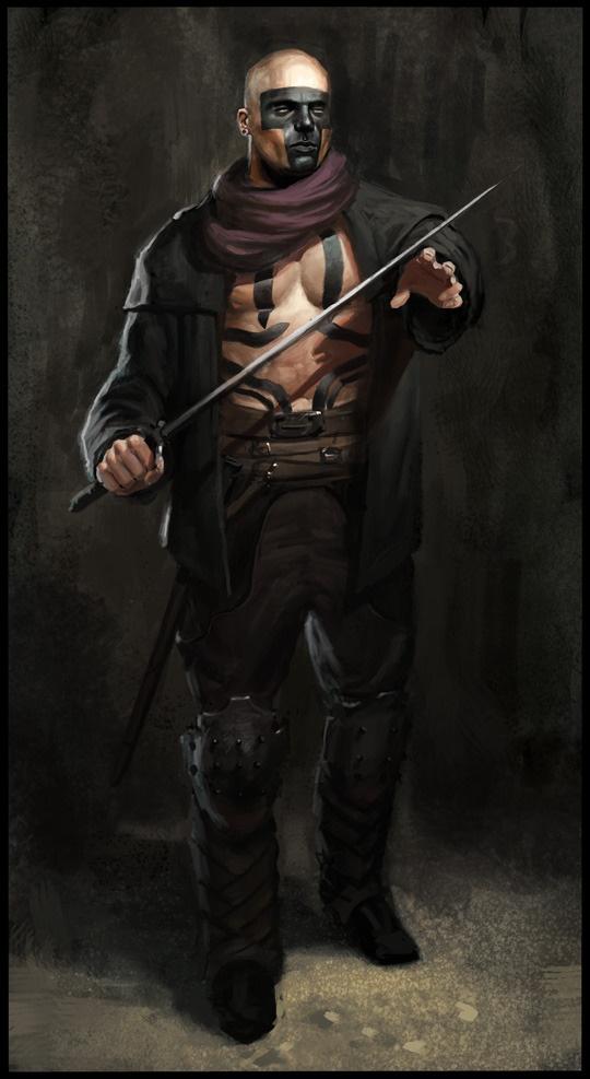 Daniel Clarke, mercenário atuante em Vellor, especialmente Vellare. Seus serviços são caros e se considera rival de Dan. Dizem que faz parte dos Crows.