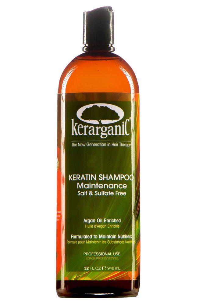 KERARGANIC - ORGANIC SALT-FREE SHAMPOO + CONDITIONER KIT #KERARGANIC