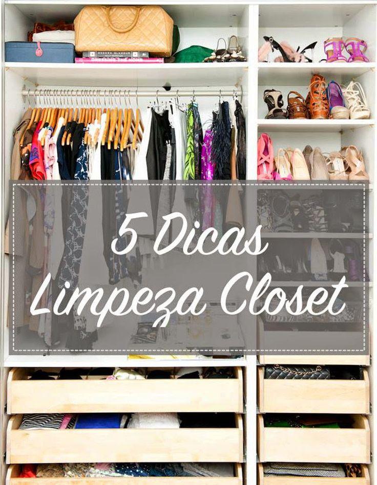 Limpeza closet