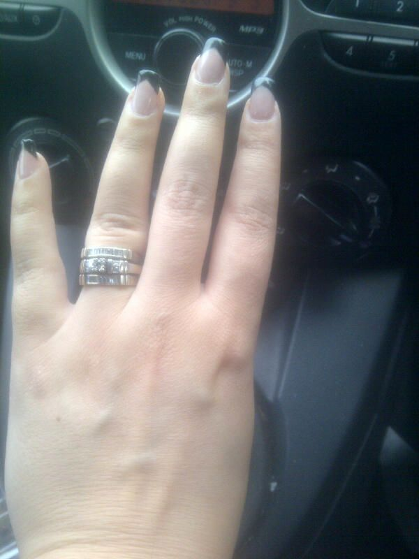 Natural nails with gel nail polish