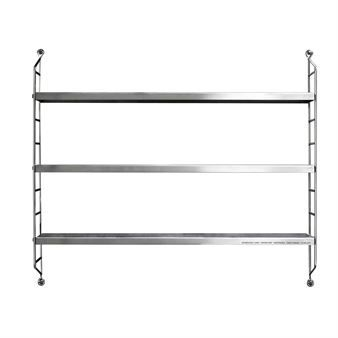 String shelf Pocket stainless steel, limited edition - stainless steel - String