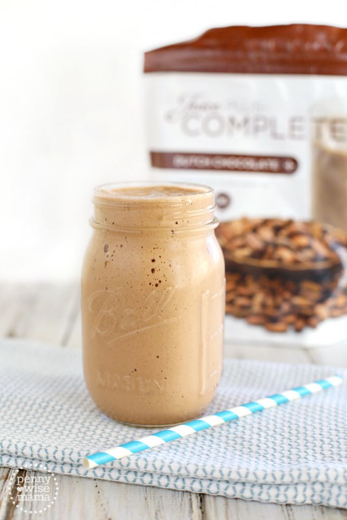 Hot Chocolate Protein Smoothie