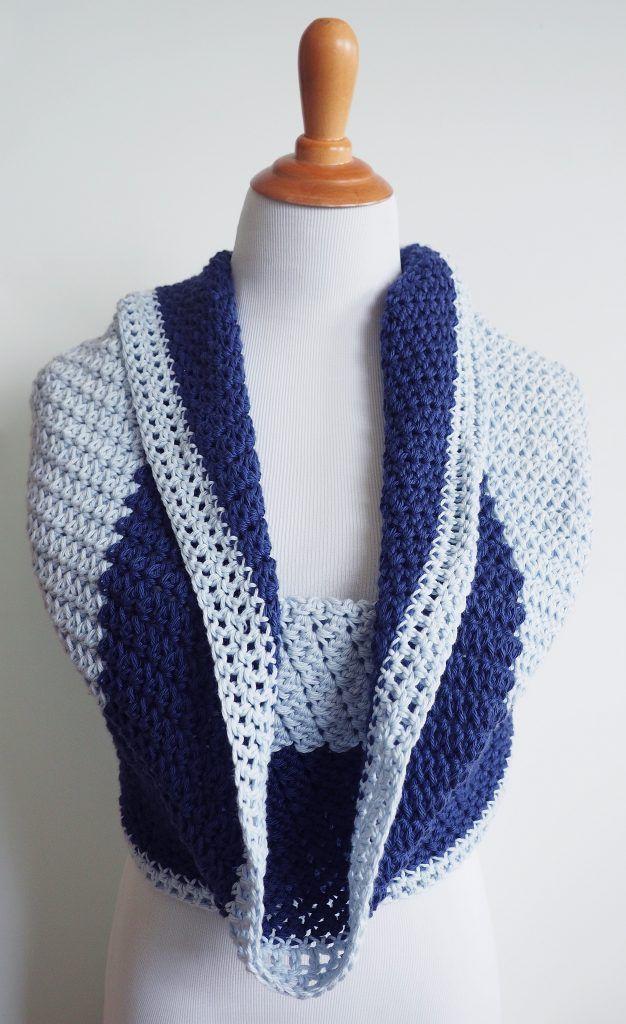 Ocean Swell Mobius Wrap Crochet Pattern Crochet Cowls Infinity