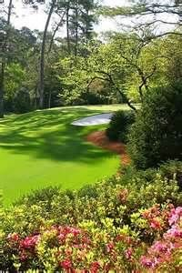 Augusta National 16th hole. This hole is where the anticipation builds. #pinnitdream9holes @Pinnitgolf