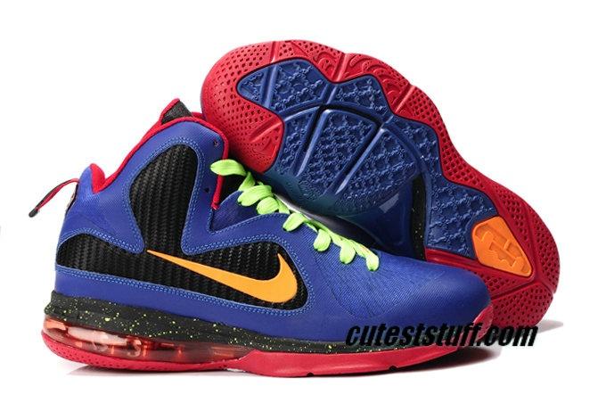Nike Basketball Lebron 9 Shoes Nerf Mache Custom.jpg