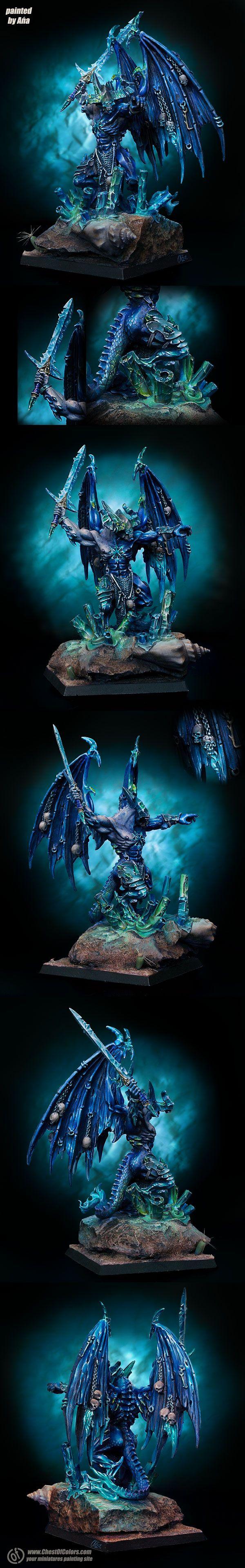Chaos Demon Prince of Tzeentch - based on Be'Lakor
