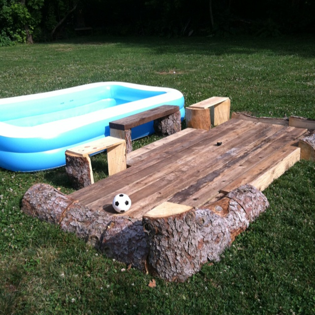 Portable Decking Ideas : Best images about backyard pool ideas on pinterest