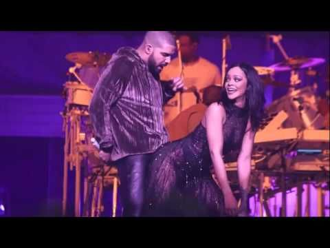 ANTI World Tour Work Drake is Rihanna's Special Guest in Miami HD - YouTube