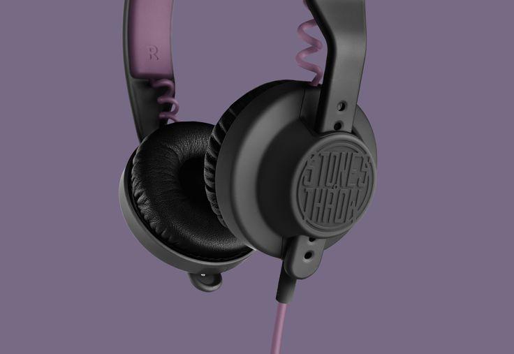 AIAIAI Headphones / Stones Throw by CP+B Copenhagen